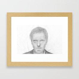 House MD Framed Art Print