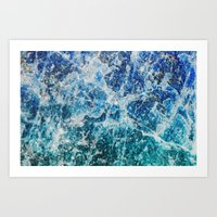 mineral Art Prints featuring MINERAL MAGIC by Catspaws