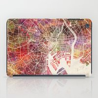 tokyo iPad Cases featuring Tokyo by MapMapMaps.Watercolors
