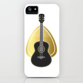 Guitar Pick Bass Guitar iPhone Case