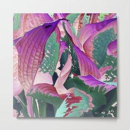 519 - Abstract Garden Design Metal Print