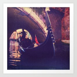 """""""Venice is like eating an entire box of chocolate liqueurs in one go.""""  ― Truman Capote Art Print"""