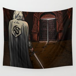 Slayer of Devils Wall Tapestry