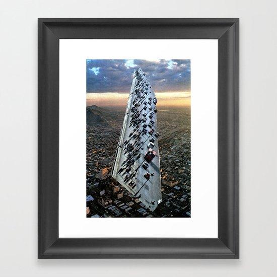 Mile 604 Framed Art Print