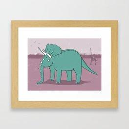 Elephantops. Framed Art Print