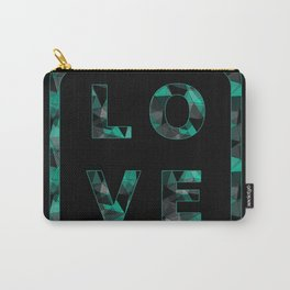 "Colorful word ""LOVE"". 2 Carry-All Pouch"