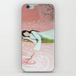 Spring daydream   Yuko Nagamori iPhone Skin