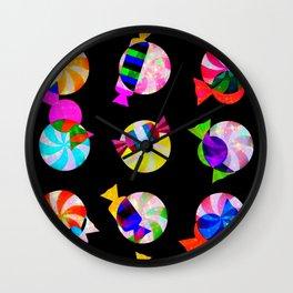 Candy Drop Wall Clock