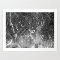 Marbled Art Art Print