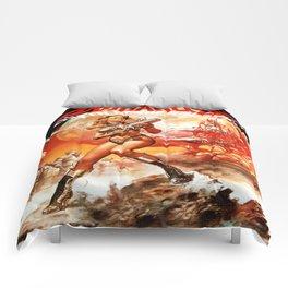 Queen Of The Galaxy Comforters