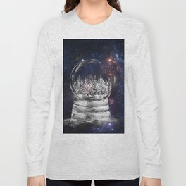 Magical Winter Snow globe Long Sleeve T-shirt