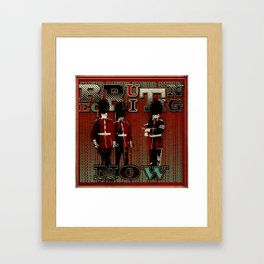 Now Recruiting Framed Art Print