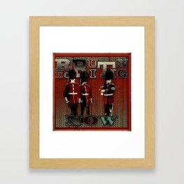 Now Recruiting Framed Art Print