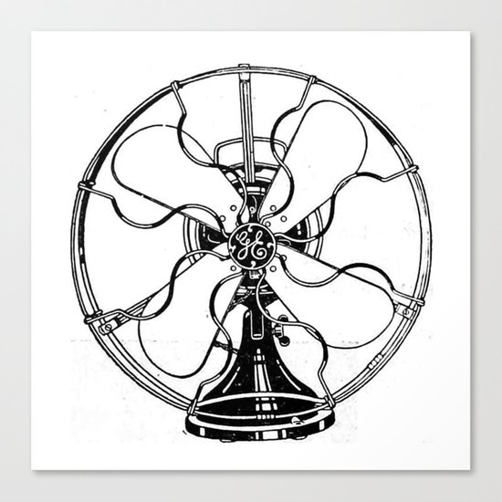 Fan Canvas Print