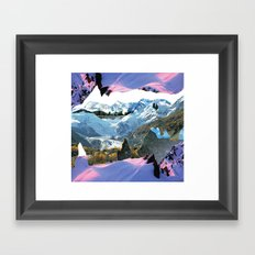 Experiment am Berg 30 Framed Art Print