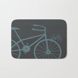 Grey Bike by Friztin Bath Mat