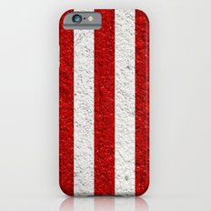 Red & White Verticle iPhone 6s Slim Case