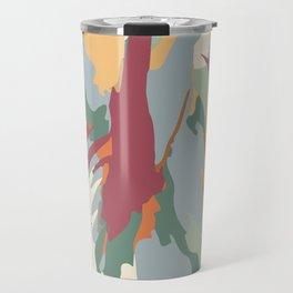 Abstract Artistic Tulip Travel Mug