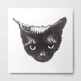 Aleister Face Metal Print