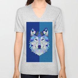 Graphic Wolf Unisex V-Neck