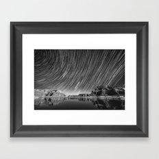 World Spin Framed Art Print