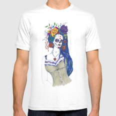 Scull Candy Lady White MEDIUM Mens Fitted Tee