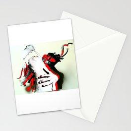 Elephant Naked Man Stationery Cards