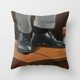 O Captain, my Captain Throw Pillow