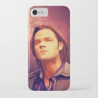 sam winchester iPhone & iPod Cases featuring Sam Winchester - Supernatural by KanaHyde
