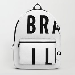 I like Brains | Sapiosexual Backpack