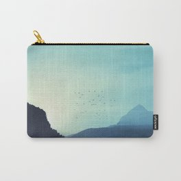 Sundancer - Alpine valley at sunrise Carry-All Pouch