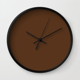 Stairway to Serenity ~ Pine Cone Brown Wall Clock