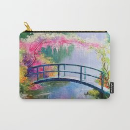 Pond in the garden of Monet Carry-All Pouch