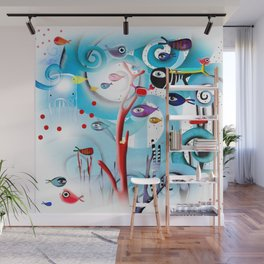 Reef Underwater Fishes Wall Mural
