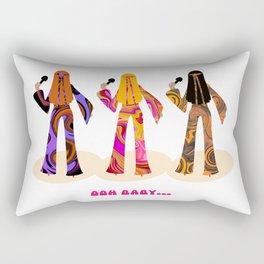 Hits of the Sixties Rectangular Pillow