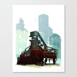 Forgotten Fuels Canvas Print