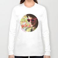 darren criss Long Sleeve T-shirts featuring Colourful Darren Criss by Ines92