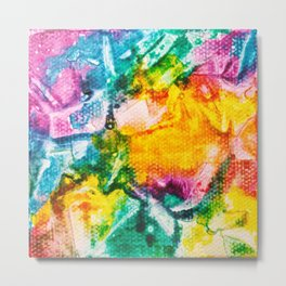 Rainbow Abstract #7 Metal Print