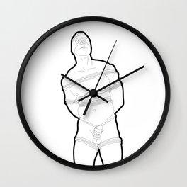 Shibari Bound Wall Clock