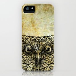 Ink Owl iPhone Case