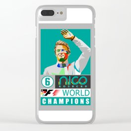 Nico World Champions Clear iPhone Case