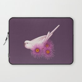 White Budgerigar Laptop Sleeve