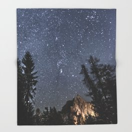 Orion | Nature and Landscape Photography Throw Blanket