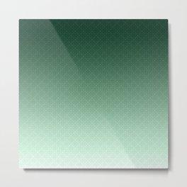 Apple green , textured Metal Print