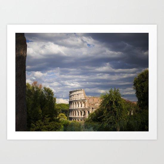The Roman Colosseum  Art Print