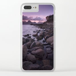 Raw and Rugged Clear iPhone Case