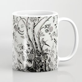 Peacock Tree Natural Coffee Mug