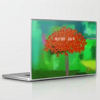 dramatical murder Laptop & iPad Skins featuring murder park by Robert Morris