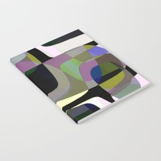 Mid Century Abstract 2 Notebook
