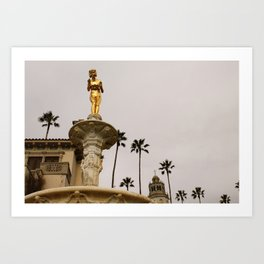 Hearst Castle Art Print